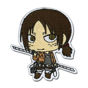 Attack on Titan Ymir Super Deformed Patch