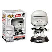 Star Wars: The Last Jedi First Order Flametrooper Pop! Vinyl Bobble Head #68
