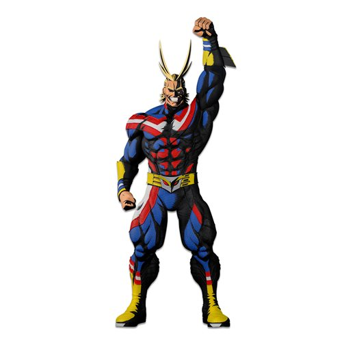 My Hero Academia World Figure Colosseum Modeling Academy All Might Two Dimensions Ver. Super Master Stars Piece Statue