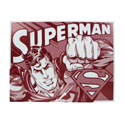 Superman Duotone DC Comics Tin Sign