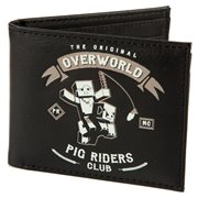 Minecraft Pig Riders Bifold Wallet
