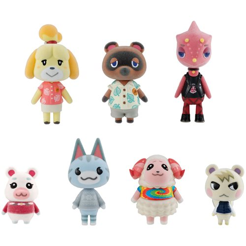 Animal Crossing: New Horizons Villager Collection Mini-Figure Set