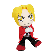 Fullmetal Alchemist Edward Sitting Pose Plush