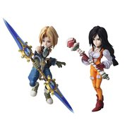 Final Fantasy IX Zidane Tribal and Garnet Til Alexandros XVII Bring Arts 2-Pack Action Figures