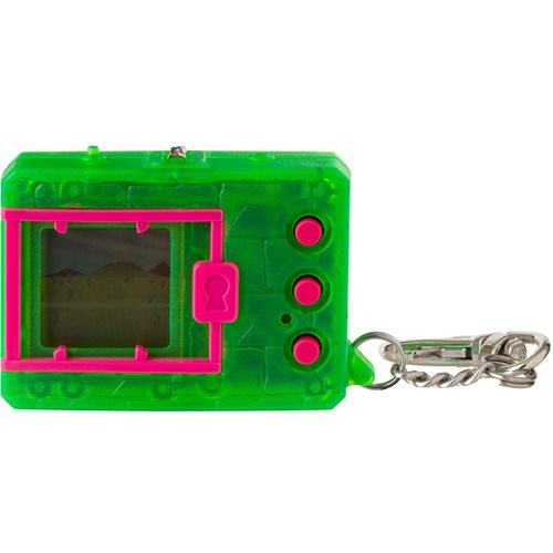Digimon Original Translucent Neon Green Electronic Game