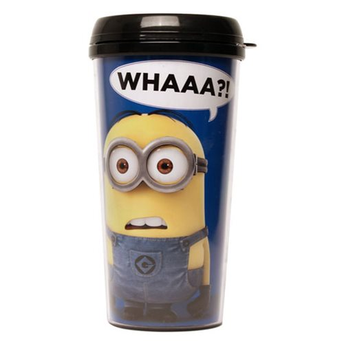 Despicable Me Whattt? Plastic Travel Cup