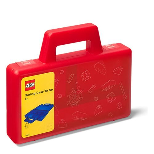 LEGO Red Sorting To Go Storage Case