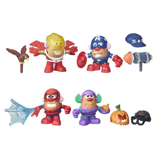 Marvel Mr. Potato Head Mashups Wave 1 Set
