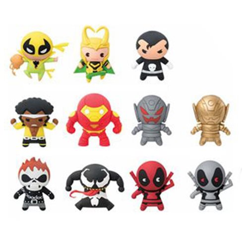 Marvel 3-D Figural Key Chain Series 3 Display Box