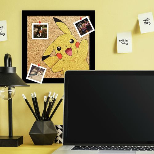 Pokemon Pikachu Cork Wall Art