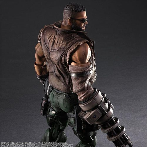 Final Fantasy VII Remake Barret Wallace Ver. 2 Play Arts Kai Action Figure
