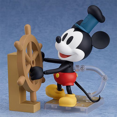 Mickey Mouse Steamboat Willie Nendoroid Action Figure