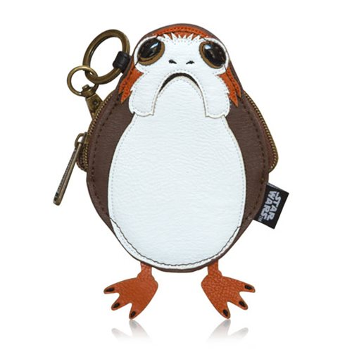 Star Wars: The Last Jedi Porg Full Body Coin Bag