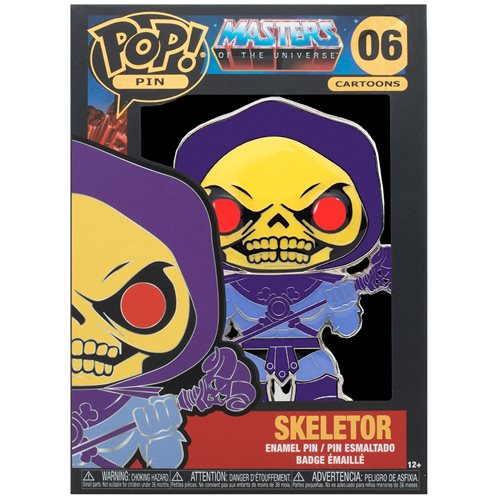 Masters of the Universe Skeletor Large Enamel Pop! Pin