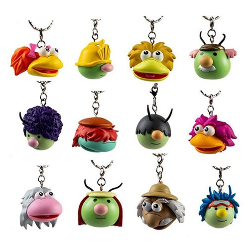 Fraggle Rock Key Chains Random 4-Pack