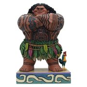 Disney Traditions Moana Maui Daring Demigod Statue by Jim Shore