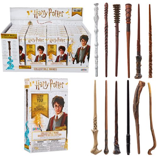 Harry Potter Die-Cast Wands Blind Boxed Wave 4 Random 4 Pack