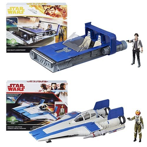 Star Wars Solo Class B Vehicles Wave 1 Case
