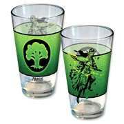 Magic The Gathering Planeswalker Nissa Line Art Pint Glass