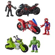 Marvel Super Hero Adventures Figure and Motorcycle Wave 2