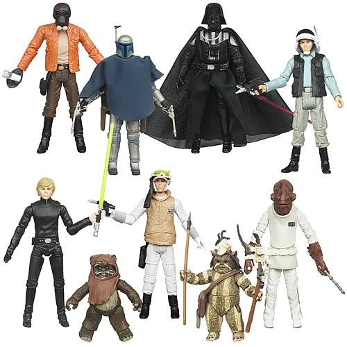 Star Wars Action Figures Vintage Wave 9 Case
