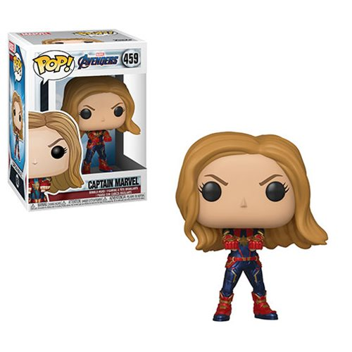 Avengers: Endgame Captain Marvel Pop! Vinyl Figure
