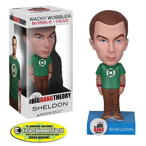 EE Exclusive Big Bang Theory Sheldon Cooper Bobble Head