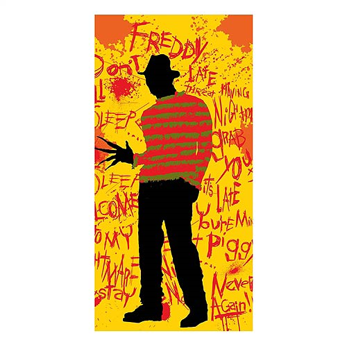 Nightmare on Elm Street Freddy Krueger Cotton Towel