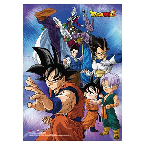 Dragon Ball Z: Battle of Gods Group 8 Wall Scroll
