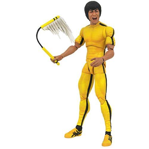 Картинки по запросу Bruce Lee Select Figures - Lee in Yellow Jumpsuit