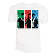 Doctor Who Red Green Blue Doctors Womens T-Shirt PX