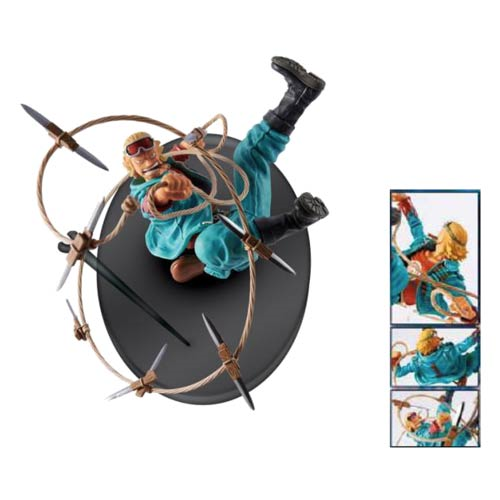 One Piece Paulie SCultures Big Zoukeio 4 Volume 8 Mini-Figure