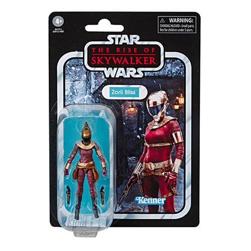 Star Wars The Vintage Collection The Rise of Skywalker Zorii Bliss 3 3/4-Inch Action Figure