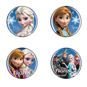 Disney Frozen Button Pin Set A