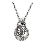 Star Wars: Episode VII - The Force Awakens BB-8 Stainless Steel Pendant Necklace