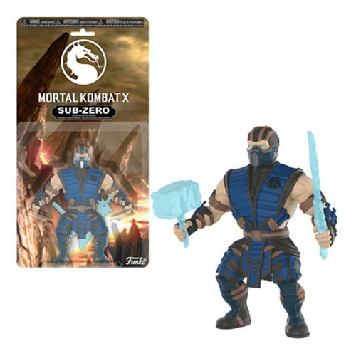 Mortal Kombat Subzero Action Figure
