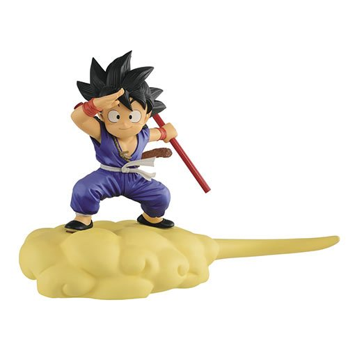 Dragon Ball Son Goku Kintoun Special Color Version Statue