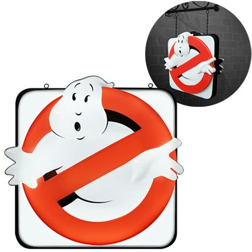 Ghostbusters Firehouse Light-Up Sign Prop Replica