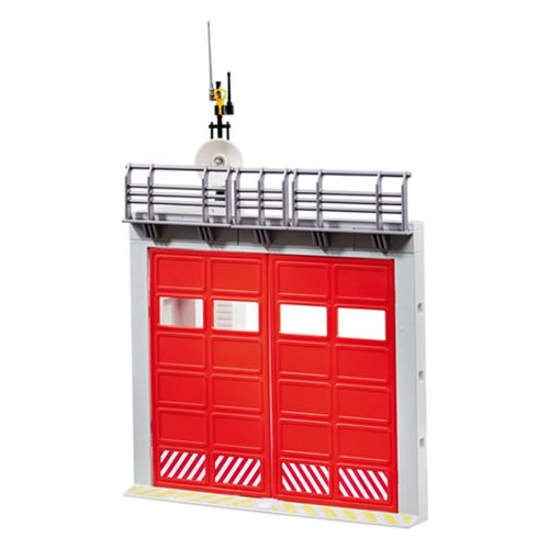 Playmobil 9803 Gate Extension for Fire Station with Alarm