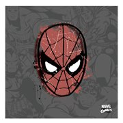 Spider-Man Distressed Canvas Print