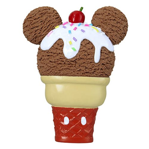 Mickey Mouse Ice Cream PVC Magnet