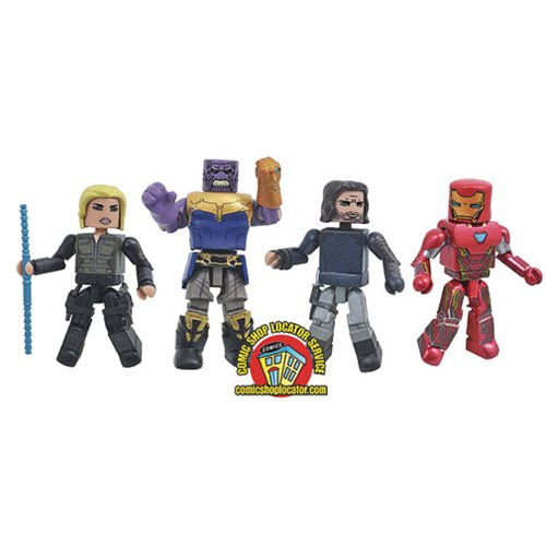 Marvel Avengers: Infinity War Minimates Box Set