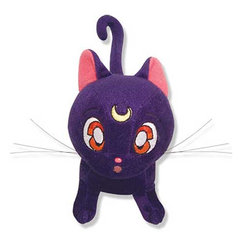 Sailor Moon Luna Cat 6 1/2-Inch Plush