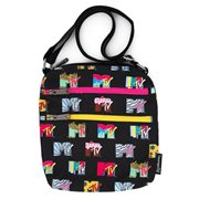 MTV Logos Nylon Passport Bag