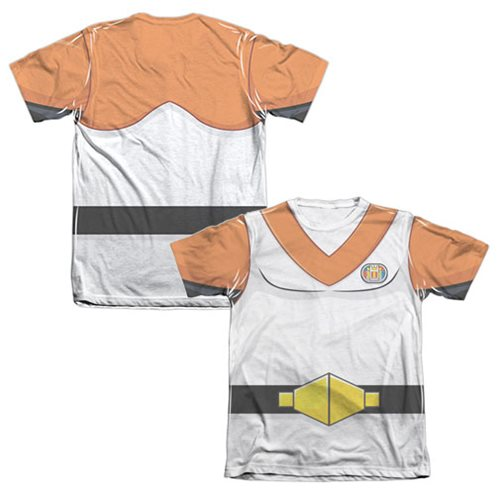 Voltron Orange Lion Pilot Hunk Costume T-Shirt