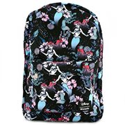 9a7ccff0ca4 The Little Mermaid Ariel Floral Print Nylon Backpack