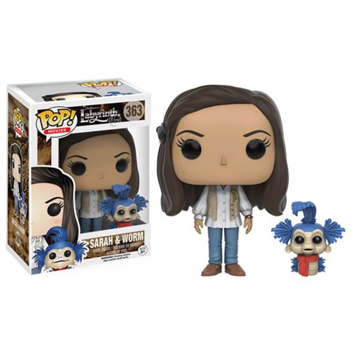 Labyrinth Sarah with Worm Pop! Vinyl Figure