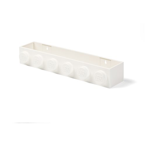 LEGO White Book Rack