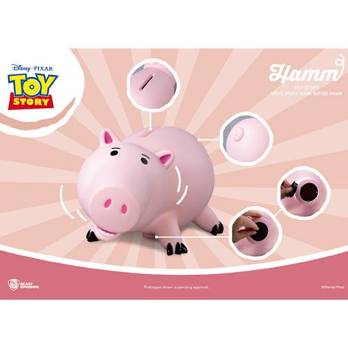 Toy Story Hamm Large Vinyl Piggy Bank - Previews Exclusive