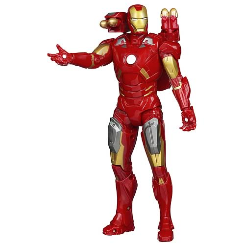 Ultimate Electronic Avenger Iron Man Action Figure